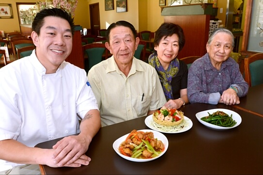 Truong Family of the Chinese Food Restaurant - Mekong Restaurant Kelowna BC